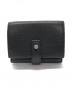 Saint Laurent Paris(サンローランパリ)の古着「3つ折り財布」|ブラック