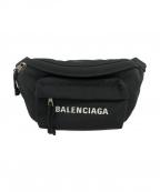 BALENCIAGA(バレンシアガ)の古着「ウエストバッグ」|ブラック