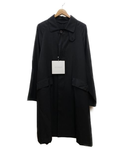 MACKINTOSH PHILOSOPHY(マッキントッシュフィロソフィー)MACKINTOSH PHILOSOPHY (マッキントッシュフィロソフィー) SINGLE BELTED COAT ブラック サイズ:38 未使用品の古着・服飾アイテム
