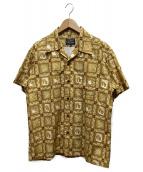 STUDIO DARTISAN(ステュディオ・ダ・ルチザン)の古着「総柄アロハシャツ」 イエロー