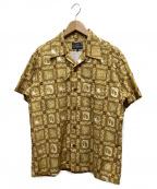 STUDIO DARTISAN(ステュディオダルチザン)の古着「総柄アロハシャツ」|イエロー
