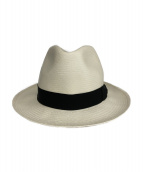 BORSALINO(ボルサリーノ)の古着「パナマハット」|ホワイト