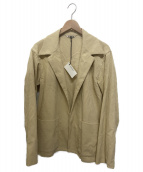 AURALEE(オーラリー)の古着「ヘンプコーデュロイシャツジャケット」|ベージュ
