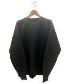 AURALEE(オーラリー)の古着「スーパーミルドスウェット」|ブラック