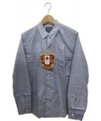 STUDIO DARTISAN(ステュディオ・ダ・ルチザン)の古着「スヴィンゴールドオックスフォードシャツ」 スカイブルー