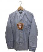 STUDIO DARTISAN(ステュディオダルチザン)の古着「スヴィンゴールドオックスフォードシャツ」|スカイブルー