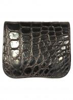 WILDSWANS(ワイルドスワンズ)の古着「ミニ財布」|ブラック