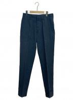 Y's for men(ワイズフォーメン)の古着「ウールパンツ」|チャコールグレー