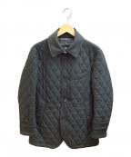 BURBERRY BLACK LABEL(バーバリーブラックレーベル)の古着「キルティングコート」 ブラック