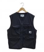 CarHartt(カーハート)の古着「WIP hayes vest」 ブラック