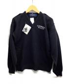 GUERNSEY WOOLLENS(ガンジーウーレンズ)の古着「セーター」|ネイビー