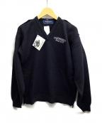 GUERNSEY WOOLLENS(ガンジーウーレンズ)の古着「セーター」 ネイビー