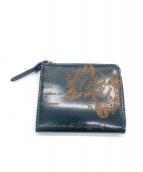 Orobianco(オロビアンコ)の古着「L字ファスナー財布」|グリーン