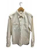 FLAT HEAD(フラットヘッド)の古着「ワークシャツ」|ホワイト