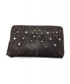 CoSTUME NATIONAL(コスチュームナショナル)の古着「長財布」|ダークブラウン