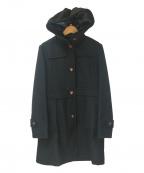 GLOVER ALL()の古着「フーデッドコート」|ブラック