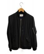 INHERIT(インヘリット)の古着「MA-1ジャケット」 ブラック