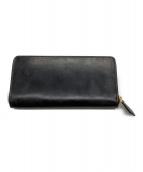 COCOMEISTER(ココマイスター)の古着「ラウンドファスナー長財布」|ブラック