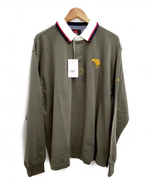 Canterbury(カンタベリー)CANTERBURY (カンタベリー) ラガーシャツ オリーブ サイズ:XL 未使用品の古着・服飾アイテム