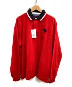 CANTERBURY(カンタベリー)の古着「ラガーシャツ」|レッド