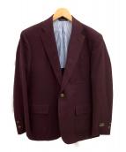 BROOKS BROTHERS(ブルックスブラザーズ)の古着「テーラードジャケット」|ワインレッド