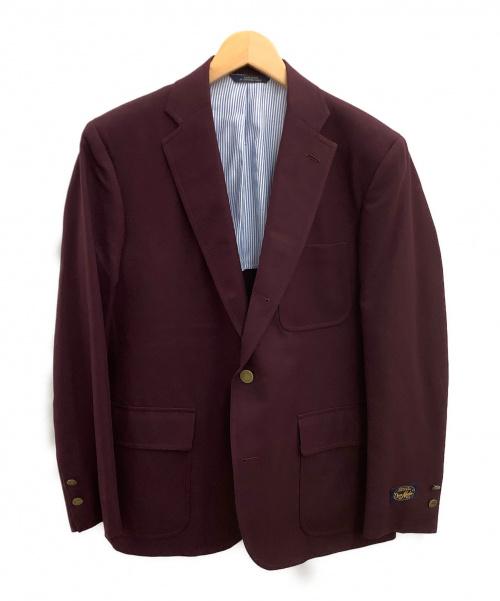 BROOKS BROTHERS(ブルックスブラザーズ)BROOKS BROTHERS (ブルックスブラザーズ) テーラードジャケット ワインレッド サイズ:40 未使用品の古着・服飾アイテム