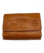 Dakota(ダコタ)の古着「3つ折り財布」|キャメル