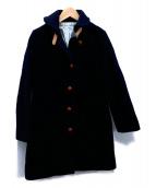 IENA(イエナ)の古着「ショールカラーウールコート」|ネイビー