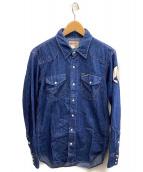 Wrangler(ラングラー)の古着「ウエスタンデニムシャツ」|インディゴ