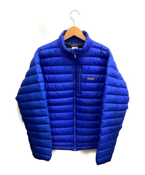 Patagonia(パタゴニア)Patagonia (パタゴニア) メンズダウンセーター ブルー サイズ:Mの古着・服飾アイテム