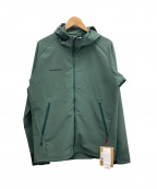 MAMMUT(マムート)の古着「マクン SO フーデッドジャケット」 グリーン