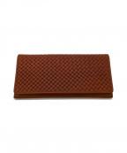 MIZUNO(ミズノ)の古着「長財布」|ブラウン
