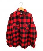 TOWN CRAFT(タウンクラフト)の古着「ネルシャツ」 レッド