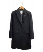 Jean Paul GAULTIER(ジャンポールゴルチエ)の古着「チェスターコート」 ブラック