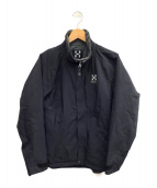 HAGLOFS(ホグロフス)の古着「ナイロンジャケット」 ブラック