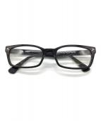()の古着「眼鏡フレーム」 ブラック