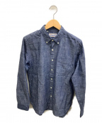 SONTAKU(ソンタク)の古着「BDシャンブレーシャツ」 インディゴ