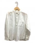 SONTAKU(ソンタク)の古着「プルオーバーBDシャツ」 ホワイト