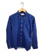 SONTAKU(ソンタク)の古着「ボタンダウンシャツ」 ネイビー