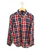 SONTAKU(ソンタク)の古着「チェックシャツ」 ネイビー×レッド