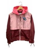 ()の古着「ナイロンジャケット」|ピンク