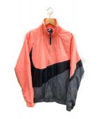 ()の古着「HBR ウーブン ジャケット」|ピンク×ブラック×グレー