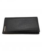 ERMENEGILDO ZEGNA(エルメネジルド・ゼニア)の古着「長財布」|ブラック