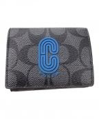 COACH(コーチ)の古着「3つ折り財布」|グレー