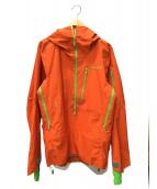 NORRONA(ノローナ)の古着「マウンテンパーカー」 オレンジ