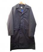 DELUXE(デラックス)の古着「ステンカラーコート」|ブラック