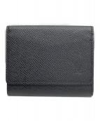 LOUIS VUITTON(ルイヴィトン)の古着「カードケース」|ブラック