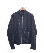 DIESEL()の古着「ライダースジャケット」|ブラック