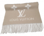 LOUIS VUITTON(ルイヴィトン)の古着「エシャルプ・レイキャビックグラディエントカシミヤマフ」|ブラウン
