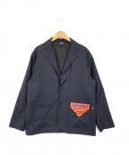 big mac(ビッグマック)の古着「テーラードジャケット」|ネイビー